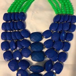 Jewelry - Necklace blue and green